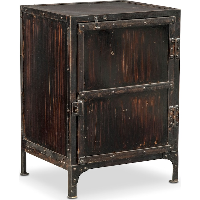 Accent and Occasional Furniture - Gwinn Cabinet - Black
