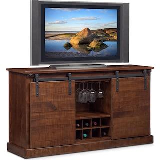 Ashcroft TV Stand with Wine Storage