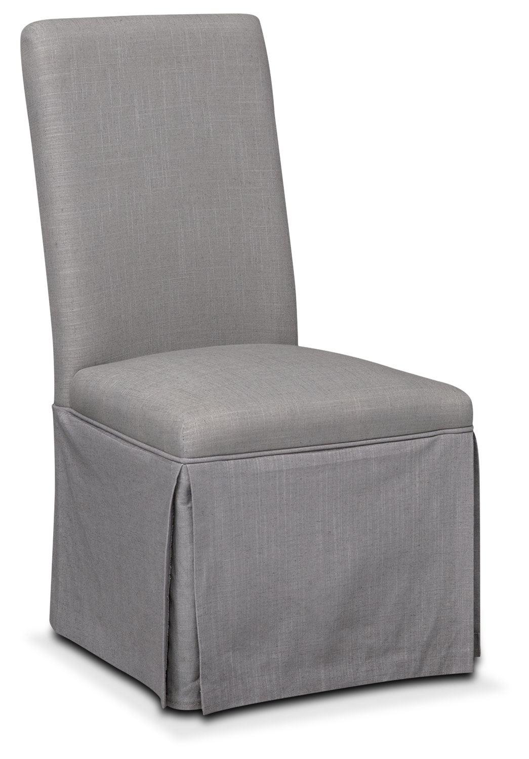 Dining Room Furniture - Patrice Side Chair - Gray