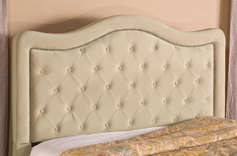 Bedroom Furniture - Tris Queen Headboard - Beige
