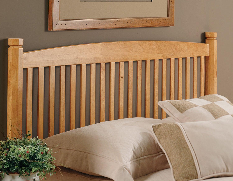 Bedroom Furniture - Tree Twin Headboard - Oak