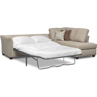 Mckenna 2-Piece Queen Sleeper Sectional and Chair
