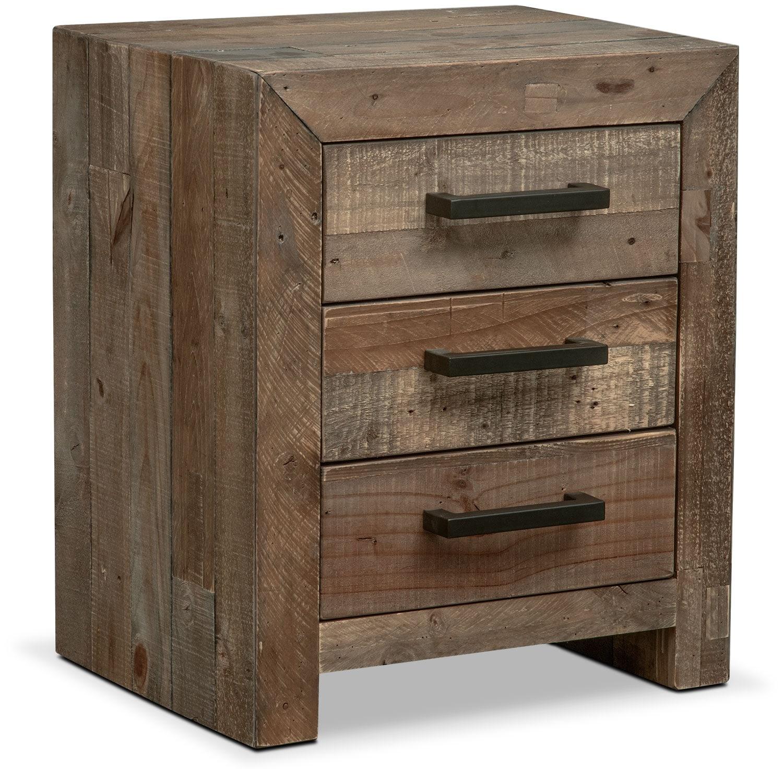 Bedroom Furniture - Rancho Nightstand - Pine