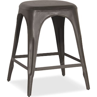 Holden Backless Counter-Height Stool - Black