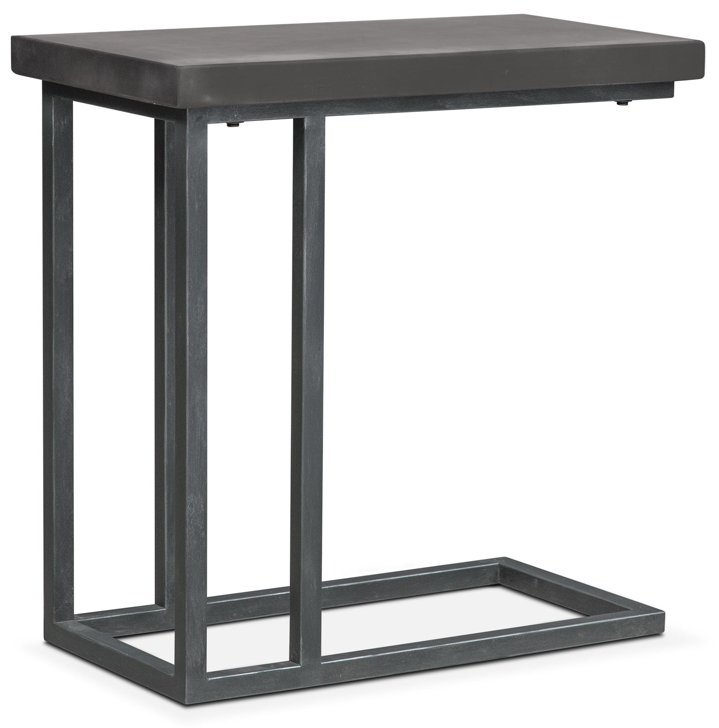 Accent and Occasional Furniture - Conde Side Table - Concrete