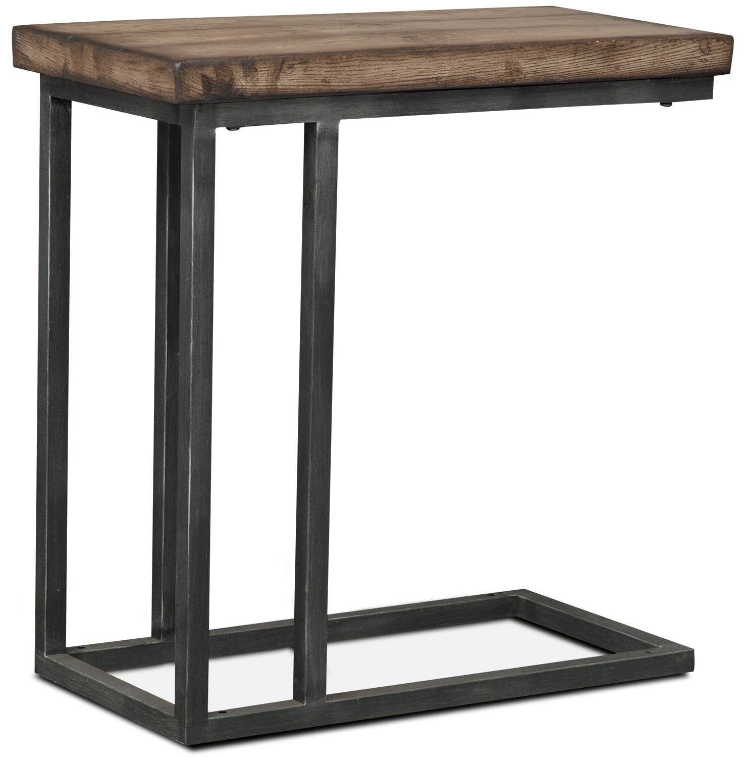 Accent and Occasional Furniture - Conde Side Table - Driftwood