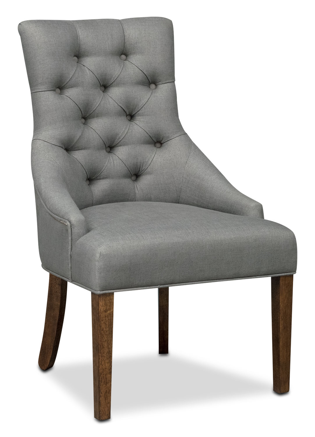 Dining Room Furniture - Melissa Side Chair - Gray