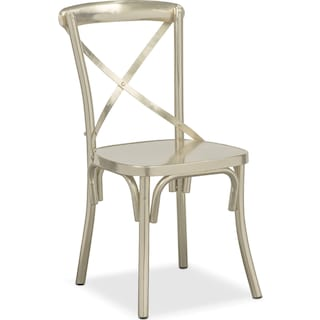 Braddock Side Chair - Nickel