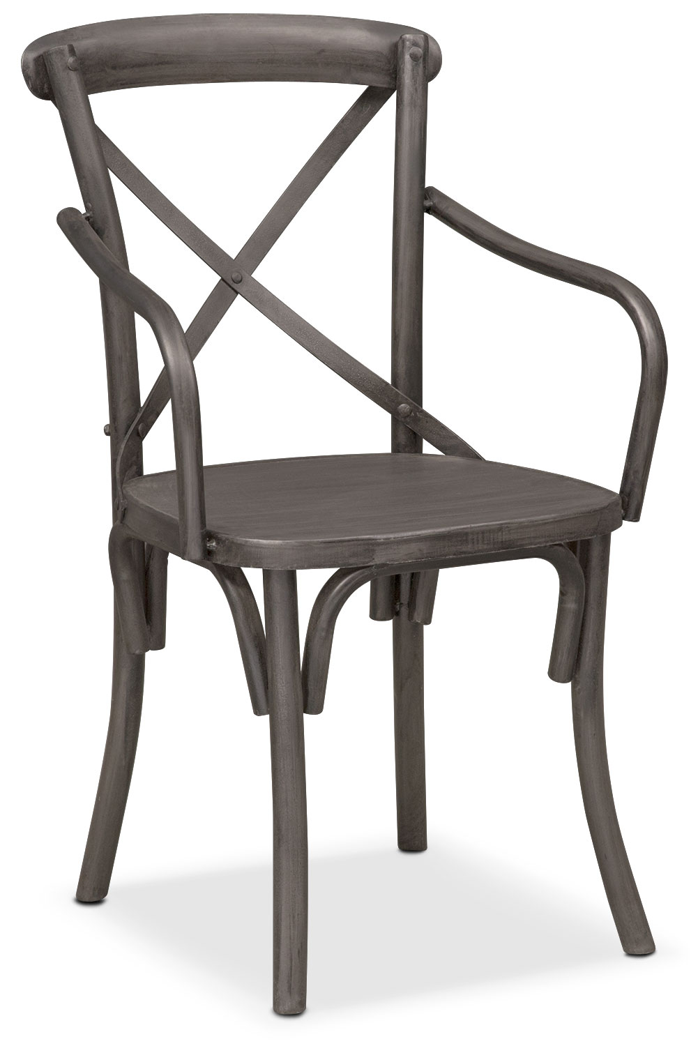 Dining Room Furniture - Braddock Arm Chair - Black