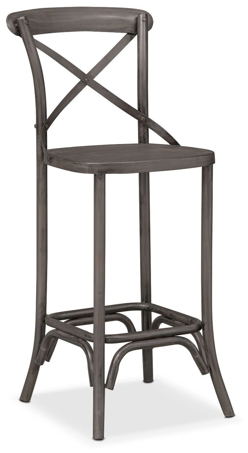 Dining Room Furniture - Braddock Barstool - Black