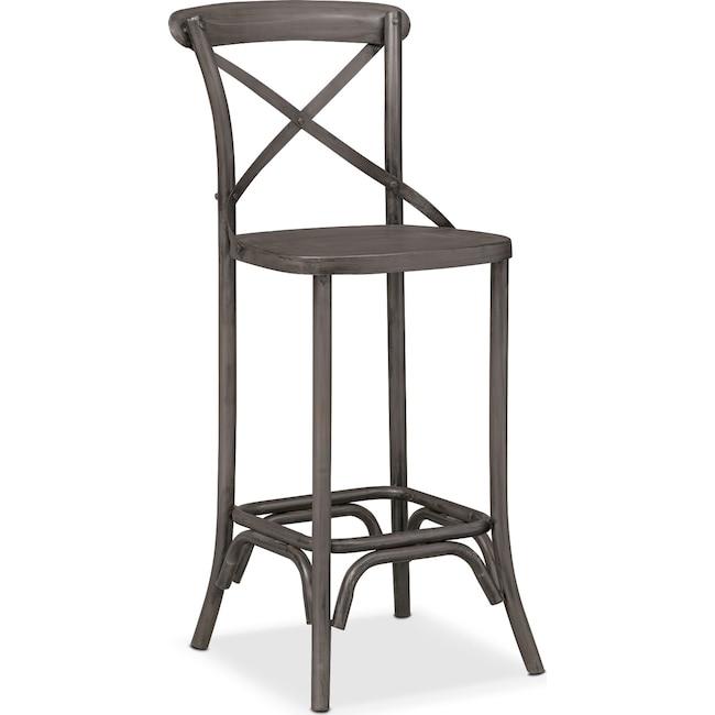 Dining Room Furniture - Braddock Barstool - Black