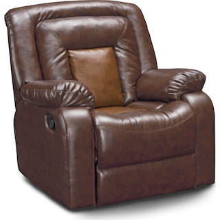 Mustang Recliner - Brown