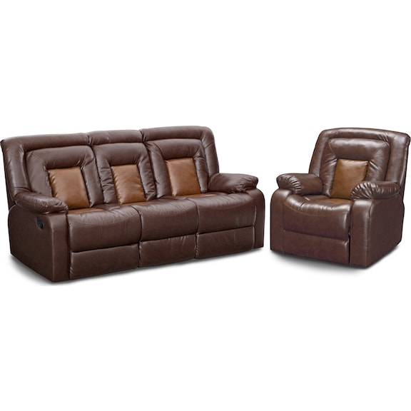 The Mustang Collection Brown American Signature Furniture