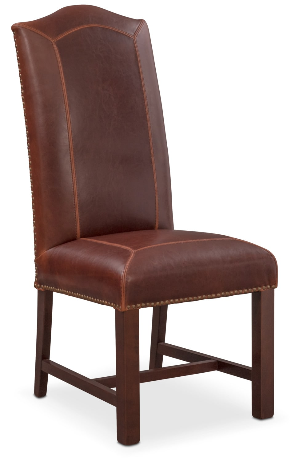 Living Room Furniture - Cloister Side Chair - Brown