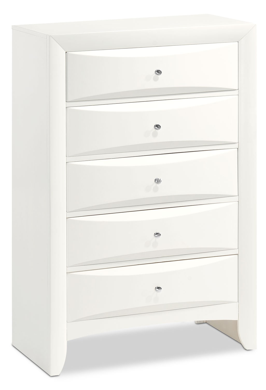 Bedroom Furniture - Braden Chest - White