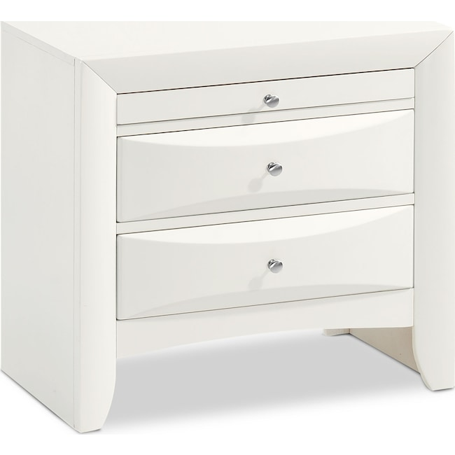 Bedroom Furniture - Braden Nightstand - White