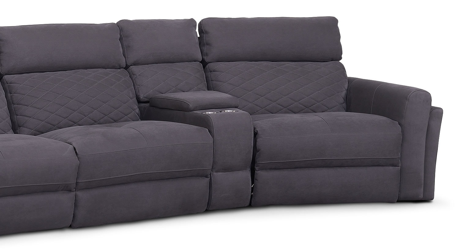 Catalina 6 Piece Power Reclining Sectional With 2 Wedge