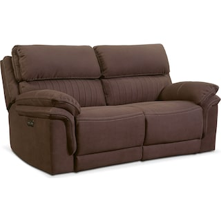 Monterey 2-Piece Power Reclining Loveseat - Mocha