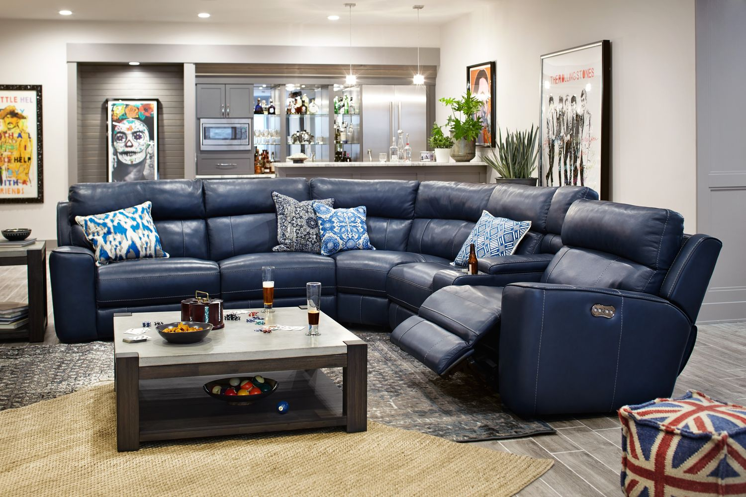 The Newport Collection - Blue | American Signature Furniture