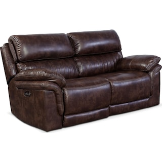 Monterey 2-Piece Power Reclining Loveseat - Chocolate