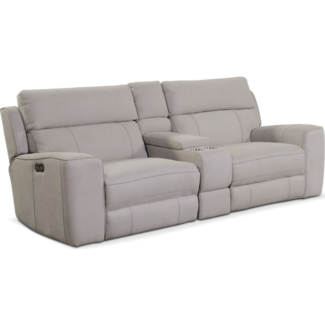 Fabulous Newport 3 Piece Dual Power Reclining Sofa With Console Andrewgaddart Wooden Chair Designs For Living Room Andrewgaddartcom