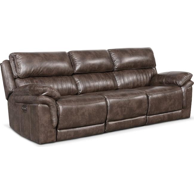 Living Room Furniture - Monterey 3-Piece Power Reclining Sofa
