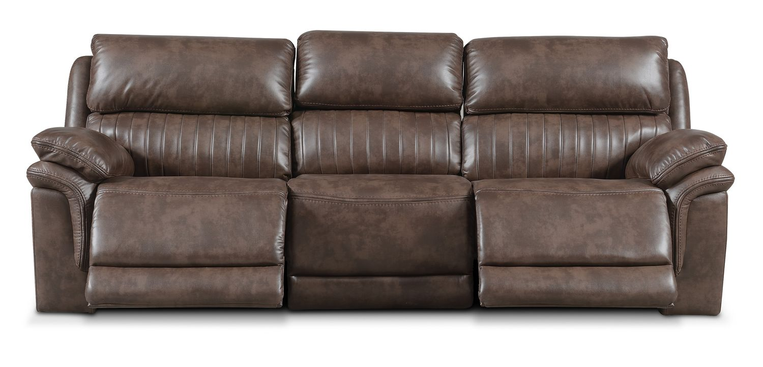Charmant Monterey 3 Piece Power Reclining Sofa   Brown