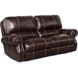 Dartmouth 2-Piece Power Reclining Sofa - Chocolate
