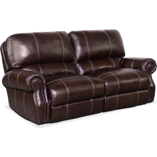 Living Room Furniture - Dartmouth 2-Piece Dual-Power Reclining Sofa