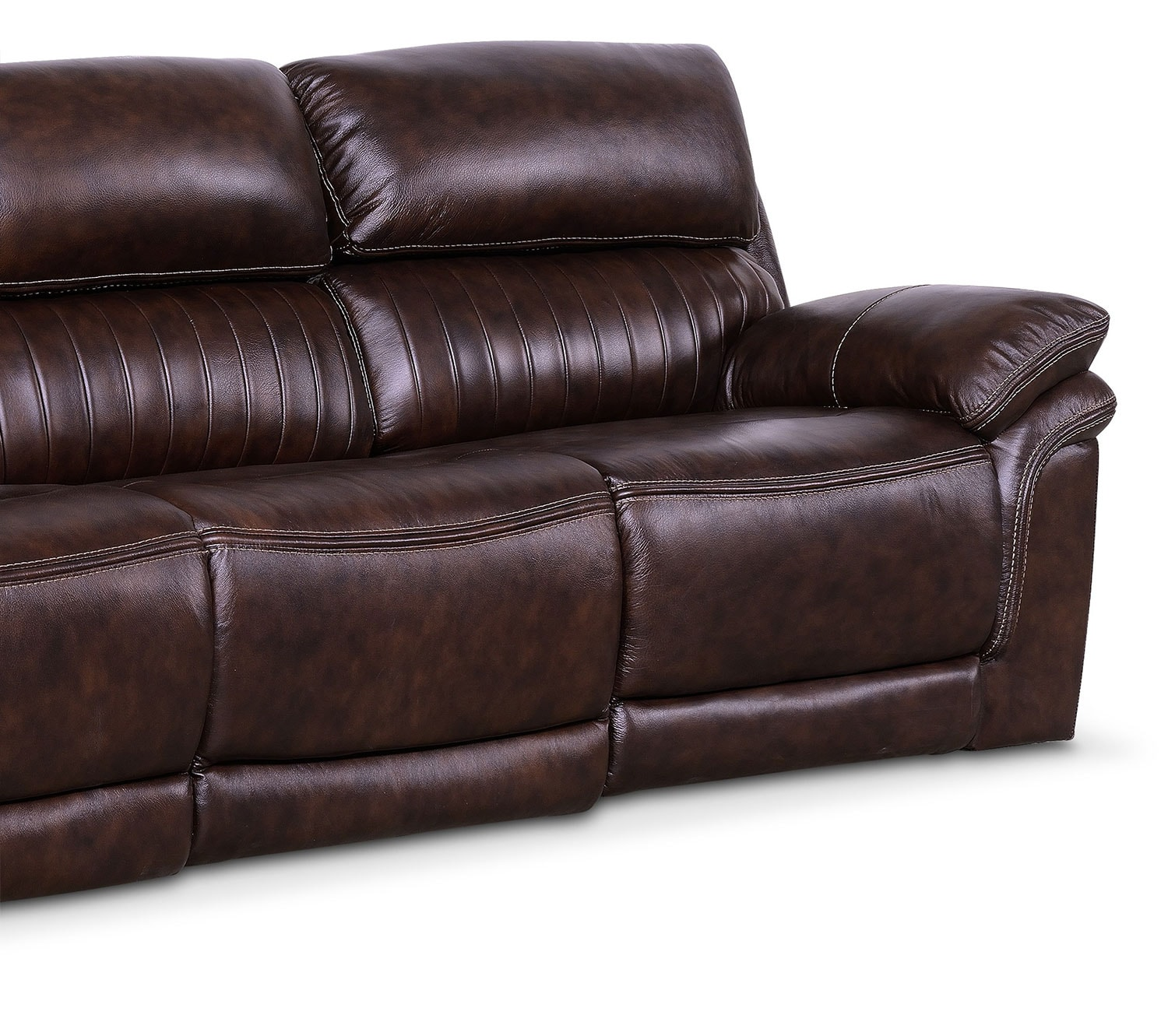 Monterey 3 Piece Power Reclining Sofa Chocolate