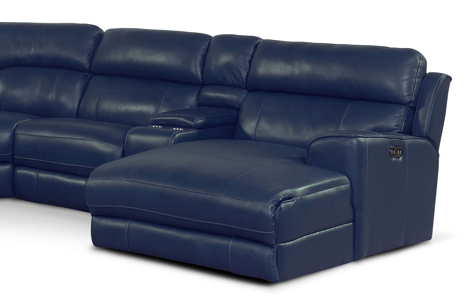 Newport 6 Piece Power Reclining Sectional With Right