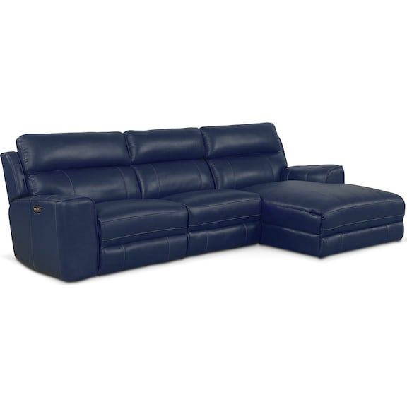 the newport collection blue american signature furniture