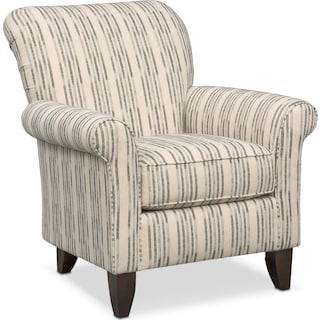 Trenton Accent Chair - Charcoal