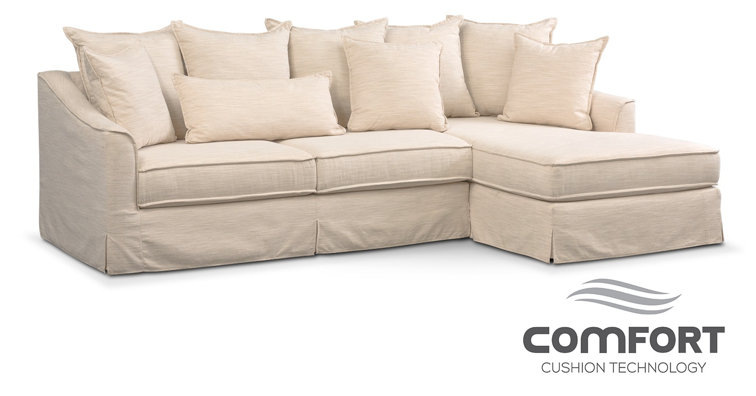 The Brooke Comfort Collection - Ivory