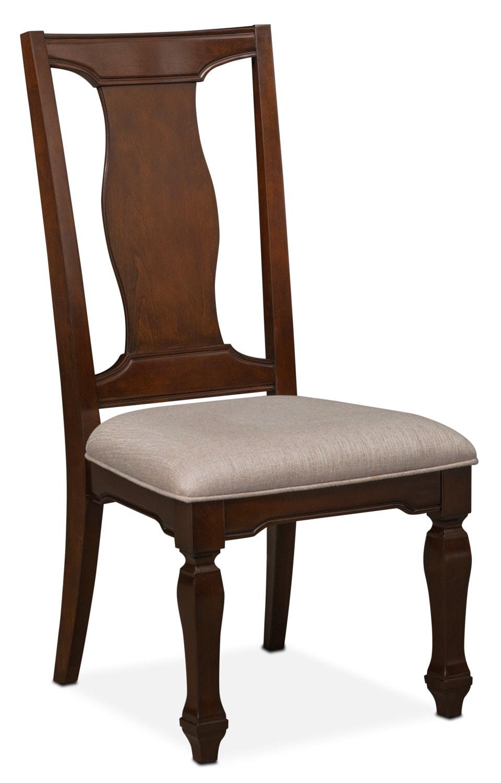 Vienna Side Chair - Merlot