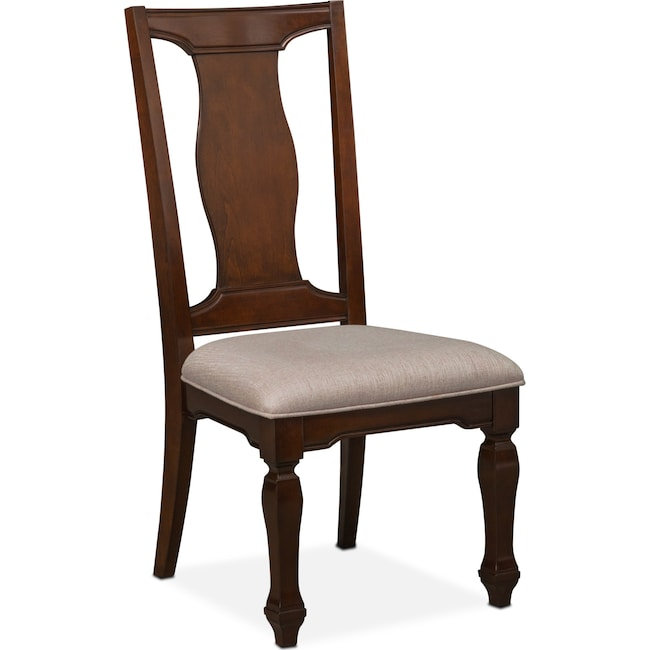 Dining Room Furniture - Vienna Side Chair - Merlot