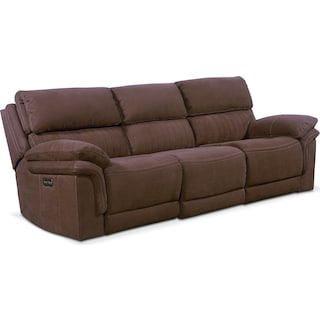 Monterey 3-Piece Power Reclining Sofa - Mocha