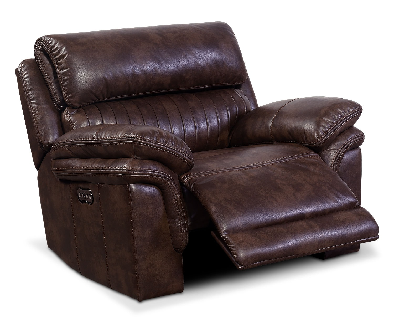 Monterey Power Recliner - Chocolate by One80  sc 1 st  American Signature Furniture & Monterey Power Recliner - Chocolate   American Signature Furniture islam-shia.org