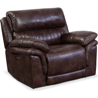 Monterey Power Recliner - Chocolate