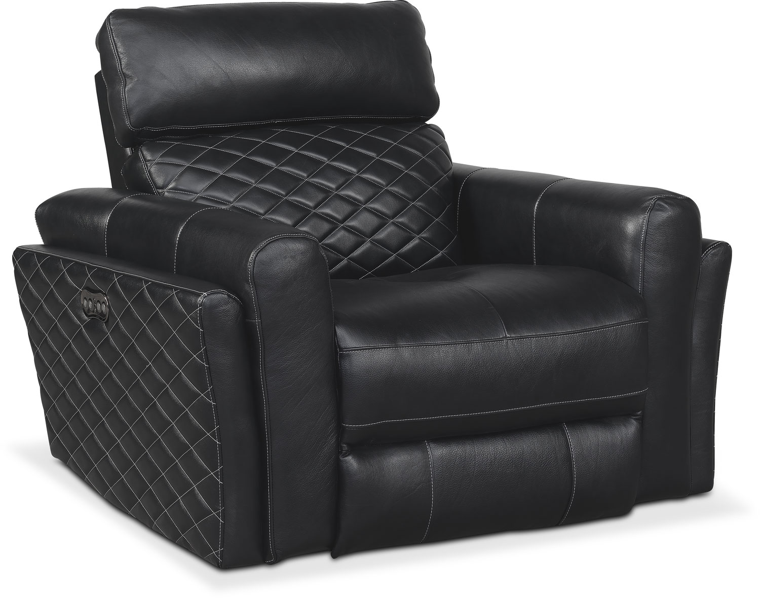 Catalina Power Recliner - Black