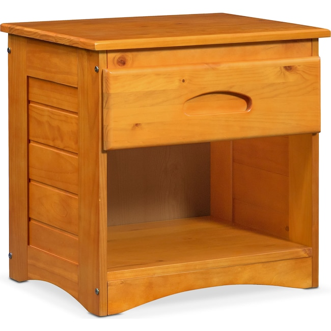 Kids Furniture - Ranger Nightstand - Pine