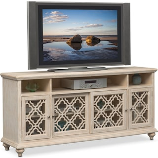 Chateau Media Credenza - Washed White