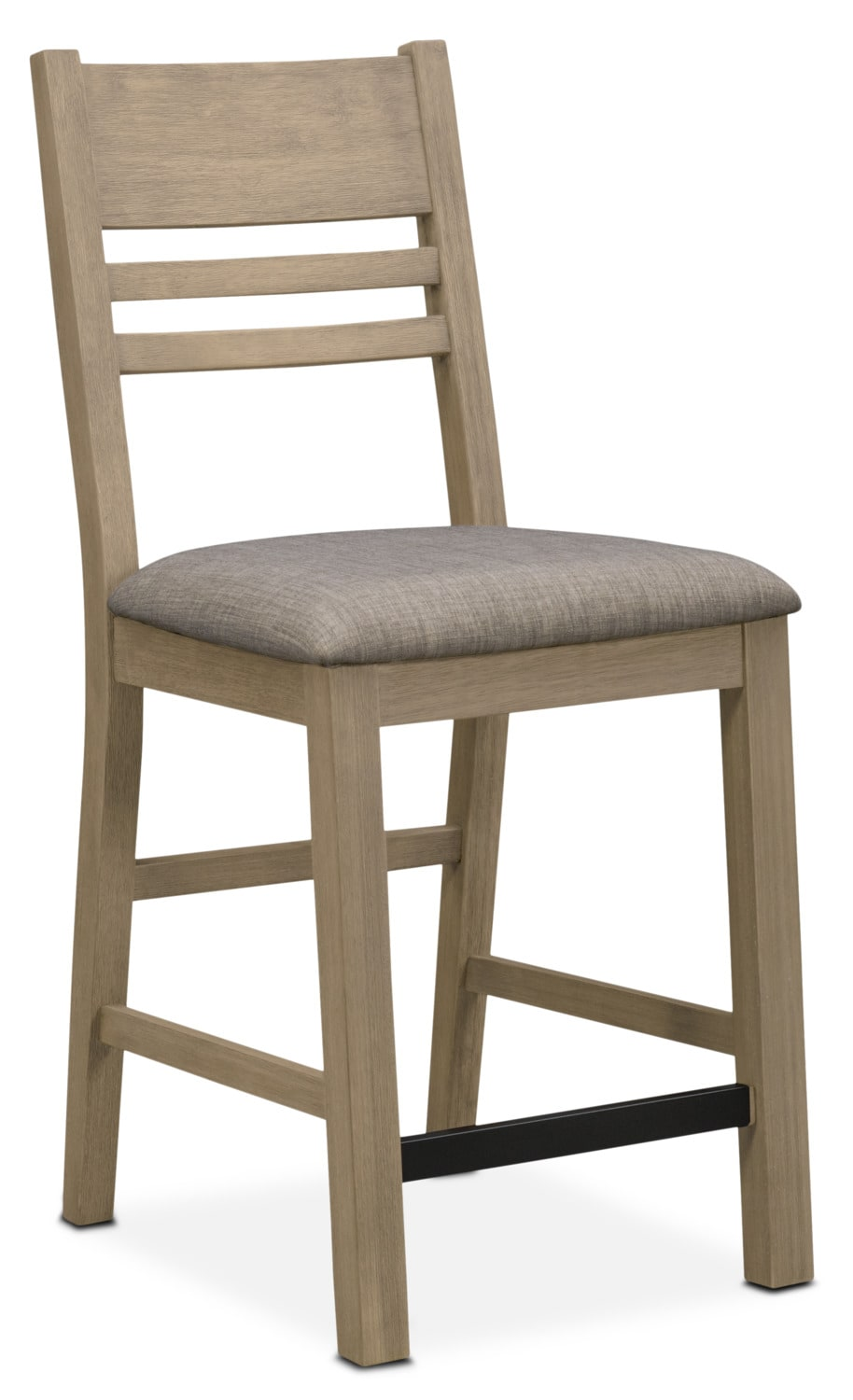 Dining Room Furniture - Tribeca Counter-Height Side Chair - Gray