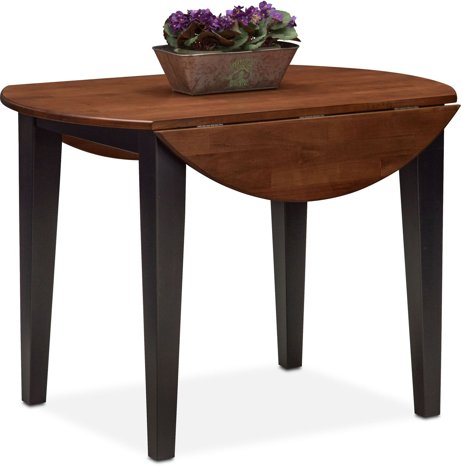 Nantucket Drop Leaf Table Black And Cherry American