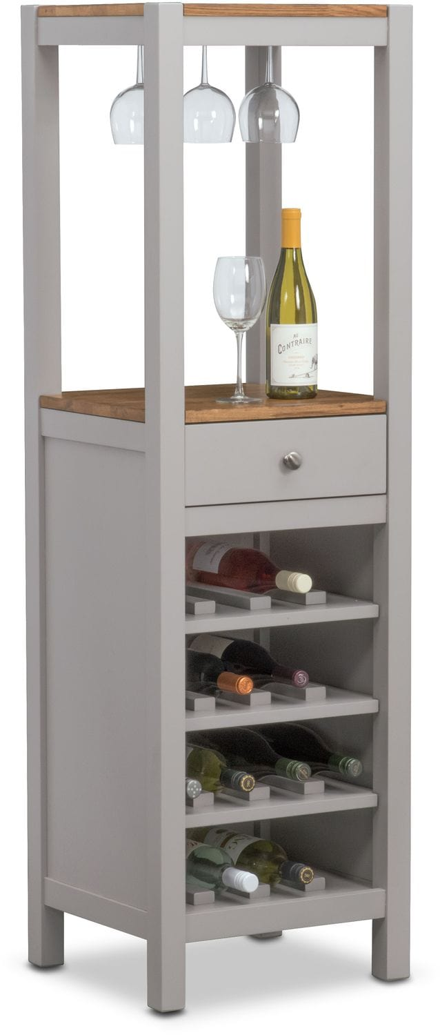 Nantucket Wine Cabinet - Maple