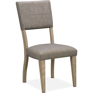 Tribeca Upholstered Side Chair - Gray