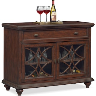 Rivoli Wine Cabinet - Brown