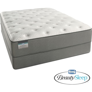 Stags Leap Luxury Firm Twin Mattress and Foundation Set