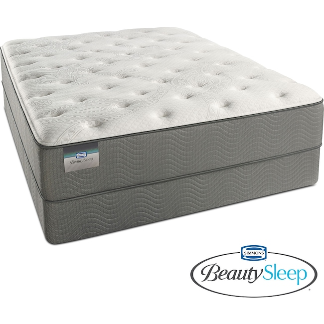 Mattresses and Bedding - Stags Leap Luxury Firm Twin Mattress and Foundation Set