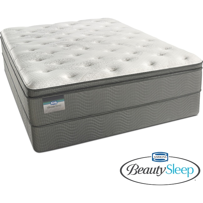 Mattresses and Bedding - Stags Leap Luxury Firm Pillowtop Full Mattress and Foundation Set